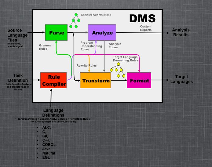 DMS Software Reengineering Toolkit